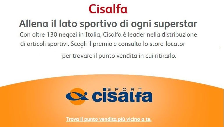 Cisalfa Sport - Reloy